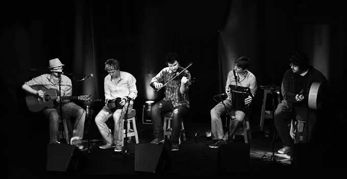 Traditional Music, Inishbofin Island, Co. Galway.